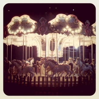 Let's ride a carousel